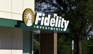 A Fidelity Investments sign