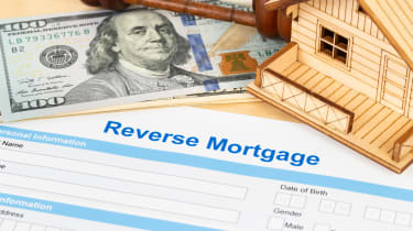 Concept art of paperwork for a reverse mortgage