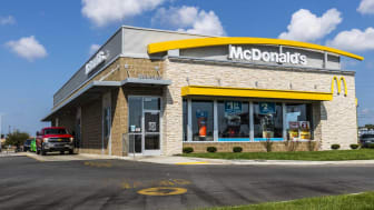 Kokomo - Circa August 2017: McDonald's Restaurant Location. McDonald's is a Chain of Hamburger Restaurants XIII