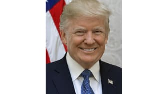 Official portrait of President Donald J. Trump, Friday, October 6, 2017.(Official White House photo by Shealah Craighead)