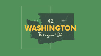 picture of Washington with state nickname