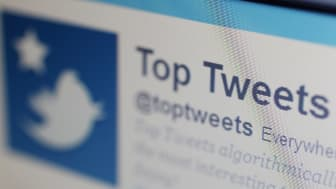 LONDON, ENGLAND - JUNE 01:A close-up view of the homepage of the microblogging website Twitter on June 1, 2011 in London, England. Anonymous Twitter users have recently claimed to reveal the