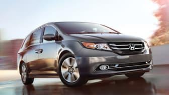 2014 Honda Odyssey.