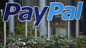 KLEINMACHNOW - DECEMBER 17:A sign for Internet payment transaction portal PayPal stands outside the eBay Germany headquarters on December 17, 2009 in Kleinmachnow, Germany. The German service