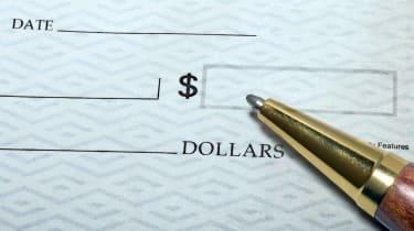 A blank check