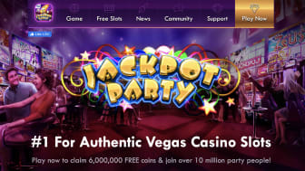 Screenshot of Jackpot Party Casino