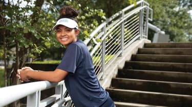Mika Garcia,  a 21-year-old rising senior, attends the University of West Florida.