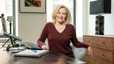 Ellen Braaten in her office