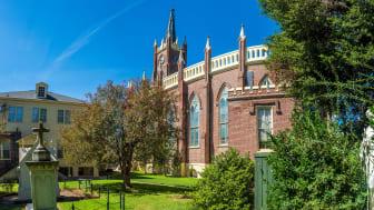 Photo of St. Mary Basilica in Natchez, Mississippi