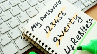 Password management. Weak and strong password.