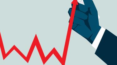 illustration of price chart