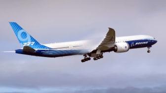 A Boeing jet