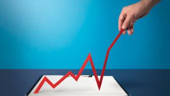 Photo illustration of strong economy