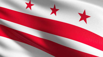 picture of District of Columbia flag