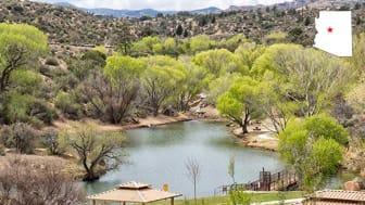 A park in Prescott Valley, Ariz.