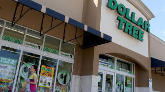 MIAMI, FL - JULY 28:A Dollar Tree store is seen on July 28, 2014 in Miami, Florida. Dollar Tree announced it will buy Family Dollar Stores for about $8.5 billion in cash and stock.(Photo by J