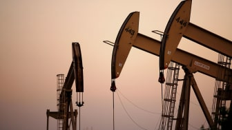 CULVER CITY, CA - APRIL 25:Oil rigs extract petroleum as the price of crude oil rises to nearly $120 per barrel, prompting oil companies to reopen numerous wells across the nation that were c