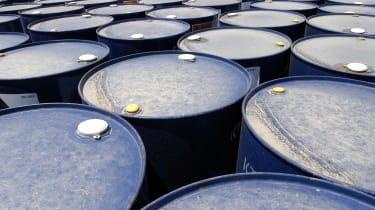 oil drums