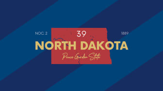 picture of North Dakota with state nickname