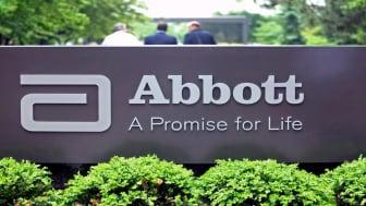An Abbott sign