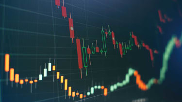 photo of stock chart