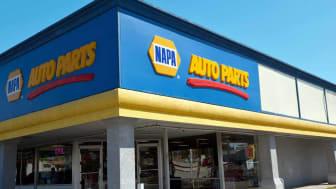 "Sacramento, California, USA - April 6, 2011: Napa Auto Parts store on Fulton Avenue in Sacramento, California. More than 80 years ago, the National Automotive Parts Association (""NAPA"") was c"