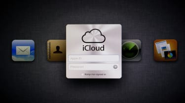 Izmir, Turkey - November 15, 2011: Apple web page iCloud displayed on a computer screen. iCloud is a cloud storage service from Apple. iCloud users access personal music, apps, photos and mor