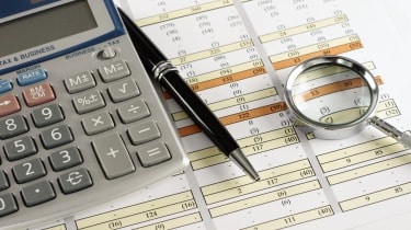 budget whit calculator