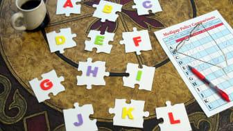 Medigap plans puzzle pieces