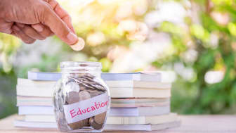 picture of education money jar