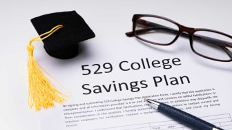 picture of a 529 plan application form