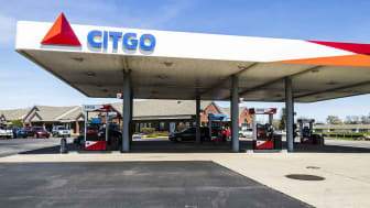 Lafayette - Circa April 2017: Citgo Retail Gas and Petrol Station. Citgo is a refiner, transporter and marketer of gas and petrochemicals II