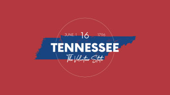 picture of Tennessee with state nickname