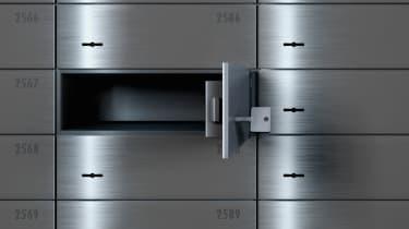 Empty Safe Deposit Box