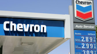 SAN FRANCISCO - APRIL 4:The Chevron logo is seen at a Chevron gas station April 4, 2005 in San Francisco, California. ChevronTexaco Corp., the nation's second biggest oil concern, is buying r