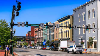 A view of downtown Lexington, Ky.