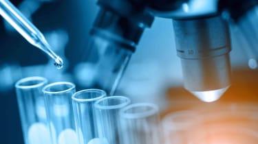 biotech lab work