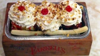 An ice cream sundae from Farrell's Ice Cream Parlour