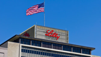photo of Eli Lilly HQ building