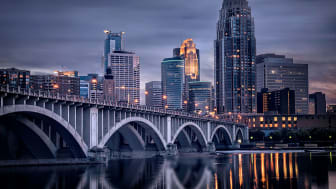 picture of Minneapolis skyline