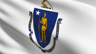 picture of Massachusetts flag