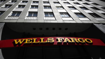 SAN FRANCISCO, CA - JULY 14:A sign is posted at a Wells Fargo Bank branch office on July 14, 2017 in San Francisco, California. San Francisco based Wells Fargo & Co. reported better-than-expe