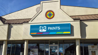 Lafayette - Circa April 2017: PPG Paints retail location. PPG Industries, is a supplier of paints, coatings, specialty materials, and fiberglass I