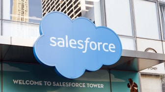 A Salesforce sign