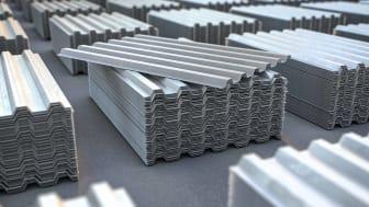 sheets of metal