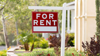 """picture of a """"for rent"""" sign"""
