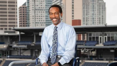 Doug Glanville, a baseball analyst and ex-MLB player