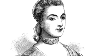 Mrs John Adams - Scanned 1855 Engraving