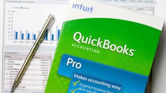 Intuit's Quickbooks software box