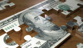 U.S. dollar bill puzzle